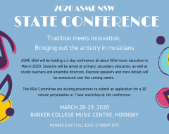 2020 ASME NSW Conference
